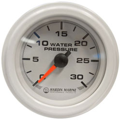 0-15 PSI Boost Gauge 2-1/16""
