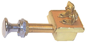 Brass Push-Pull Switch