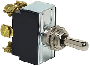 Heavy-Duty Double Pole Toggle Switch (COLE Hersee)