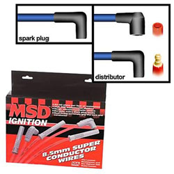 MSD 8.5 MM Spark Plug Wire Set