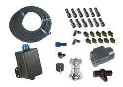 Inside Hydraulic Steering Kit -Dual XR With ITS Steering Kit