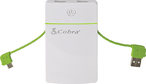 Cobra Compact 3 Output Usb Battery Pack