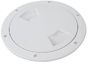 "Attwood Deck Plate 6"" White"""