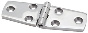 Attwood Door Hinge Cast Stainless Steel 4L x 1-1/2W (Pair)""