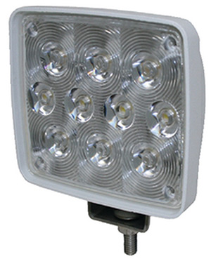 T-H Marine Led Spreader Light 10 Leds, White Housing