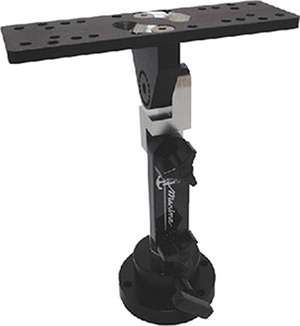 T-H Shock-Lock Heavy Duty Electronics Mount - Complete