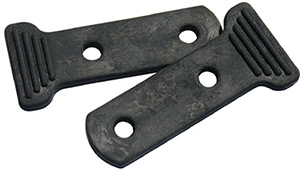 "Tie Down Engineering S"" Hook Chain Keepers - 2 Per Pack"""