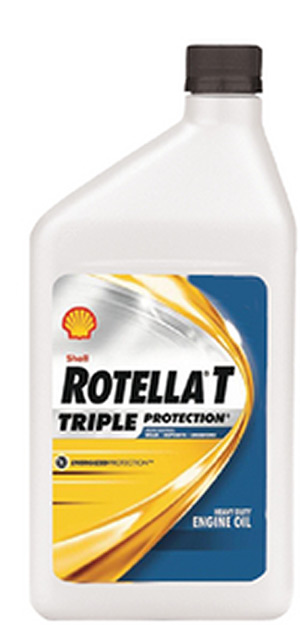 Rotella T Triple Protection 15W-40 Weight Diesel Oil, Qt.