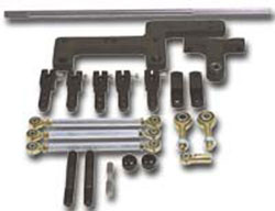 Precision Roller Bearing Dual Carburetor Linkage Kit