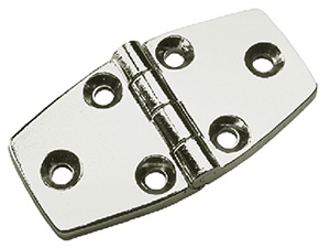Chrome Plated Zinc Door Hinge