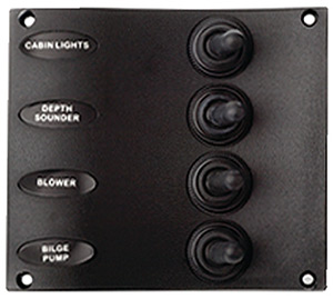 4-Toggle Switch Panel