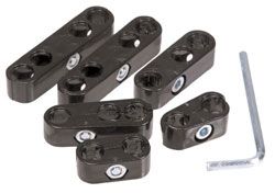 Black Pro Spark Plug Wire Separators