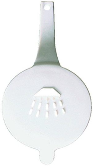 Scandvik 10252 White Replacement Cap Only for Horizontally Mounted Recessed Showers 10055 ,10275, 10298 and 10826