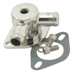 Polished Water Outlet Divider With Bypass Hole & 1