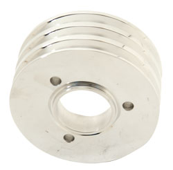 3-Groove Billet Crankshaft Pulley For Big Block Chevy