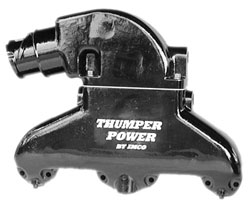 Thumper Power - Black Small Block Exhaust System w/Shift Bracket