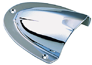 Seachoice Chrome Plated Brass Clam Shell Ventilator