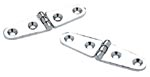 Seachoice Chrome Plated Brass Strap Hinges (1 Pair Per Pack)