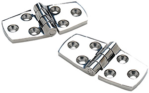 Seachoice Stainless Steel Door Hinges (1 Pair Per Pack)