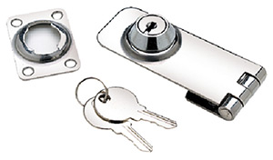 Seachoice Stainless Steel Lockable Hasp Includes 2 Keys