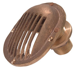 "3/4"" O.D. Brass Strainer Style"