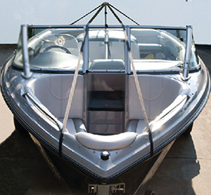 "Carver Boat Cover Support System (Includes 22 to 70"" Support Pole With Snap and Vinyl End, System Center and Strap Set)"""