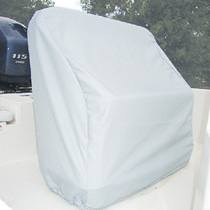 "Carver Reversible Seat Cover 40H x 36"" W x 19"" D, Haze Gray"""