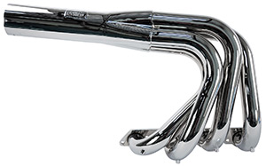 LS1 Headers, Jet, Short, Chrome