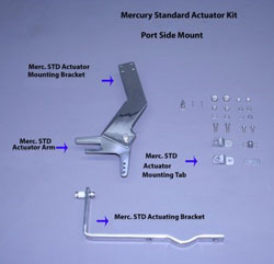 Merc Standard Actuator Kit (Port Mount)