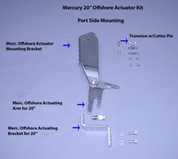 Mercury 20″ Offshore Actuator Kit (Port Side)