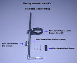 Mercury Verado Actuator Kit