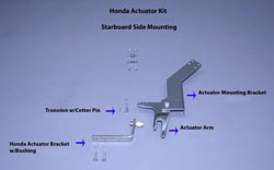 Honda Outboard Actuator Kit