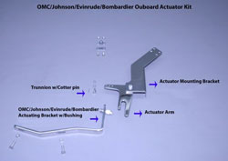 OMC / Johnson / Envinrude / Bombardier Actuator Kit
