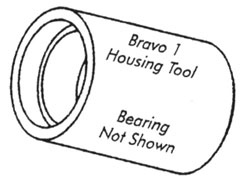 Bravo 1 Housing Tool With Bearing