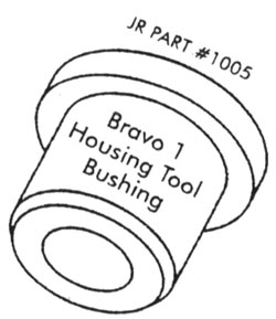 Bravo 1 Housing Tool Bushing