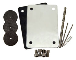 Bravo Swivel Shaft Cover Plate Installation Kit