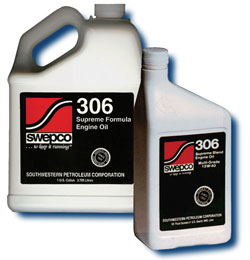 306 20W-50 High Performance Engine Oil, Quart
