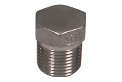"1/2"" NPT Stainless Steel Pipe Plug"