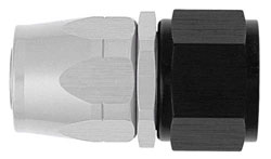 Ti-Tech Straight Non-Swivel AN Hose End