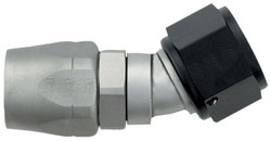 Ti-Tech 30 Degree Double-Swivel AN Hose End