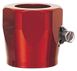 Red Hex Hose Finisher with Clamp