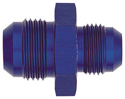 Blue Male AN Flare Reducer Union