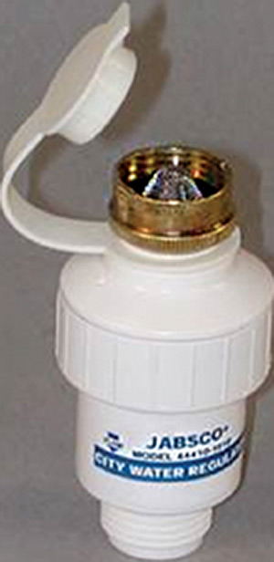 In-Line Pressure Regulator-White