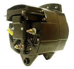 Delco Style Alternator, Diesel Only, Cat Caterpillar, 75 Amp