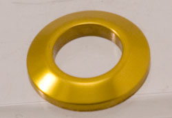 Ignition Switch Bezel, Anodized Gold