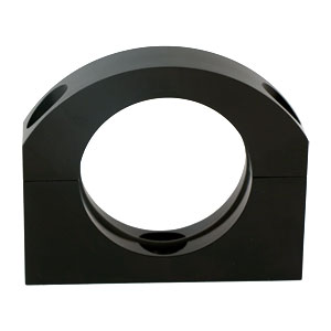 "2"" Black Billet O-Ring Clamp Oil Cooler Bracket"