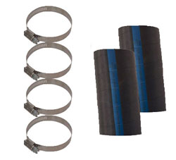 Hose Kit For Exhaust Diverters