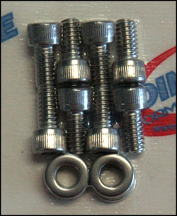 Stainless Steel Bolt Kits - S/B Chevy Steel Valve Cover Bolt Kit
