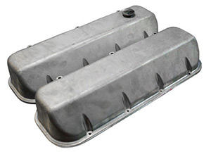 Xtreme Series Valve Covers, Satin with 1 Hole Machined