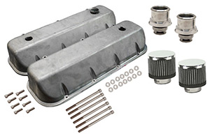 Xtreme Series Valve Cover System, Polished